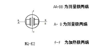 可燃气烟雾传感器 - mq-k2